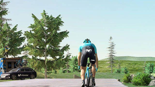 Movistar arranca Virtual Cycling, su competición de esports con ciclismo virtual