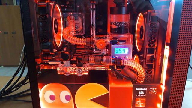 El PC Modding de los viernes: La pesadilla de Pac-Man