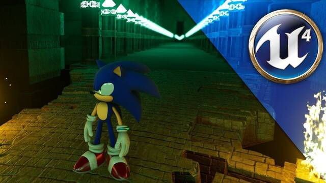 Así se ve un remake de Sonic Unleashed en Unreal Engine 4