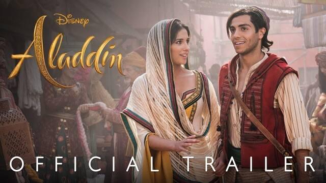Aladdin, la versión de acción en vivo de Disney, muestra su exótico tráiler