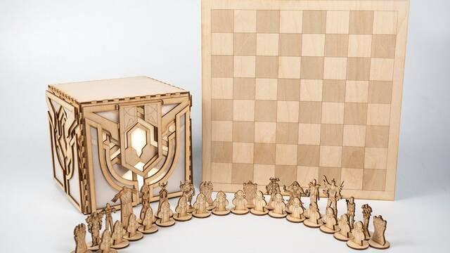 Así es el ajedrez de League of Legends creado por un fan del juego