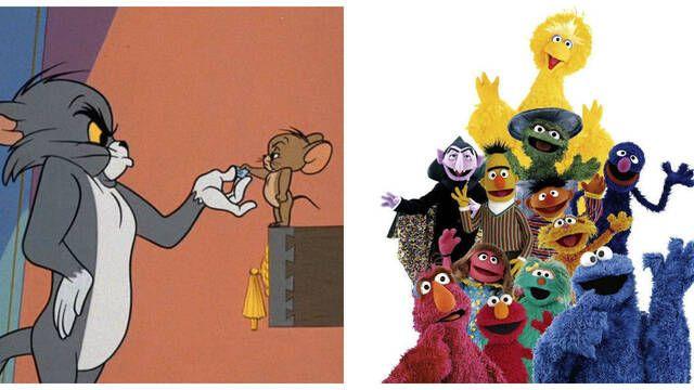 Warner Bros. anuncia las películas de El Barrio Sésamo y Tom & Jerry
