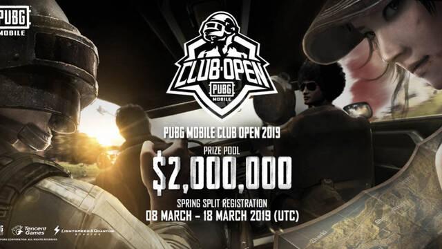 PUBG Mobile Club Open ofrecerá 2 millones de dólares en premios