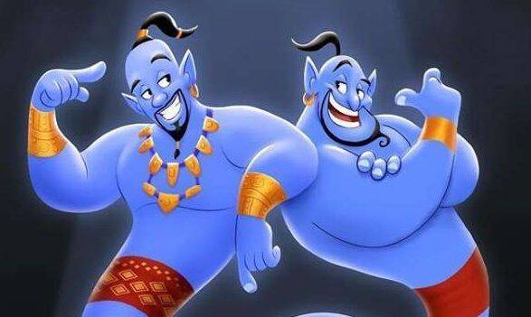 'Aladdin': Will Smith homenajea al Genio de Robin Williams