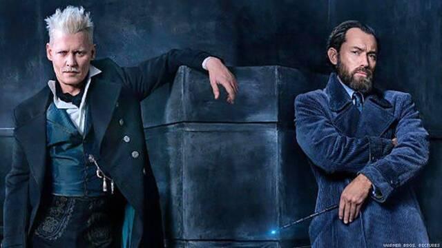J.K. Rowling habla sobre la relación de Dumbledore y Grindelwald