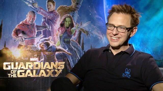 James Gunn parece que dirigirá finalmente 'Guardianes de la Galaxia 3'