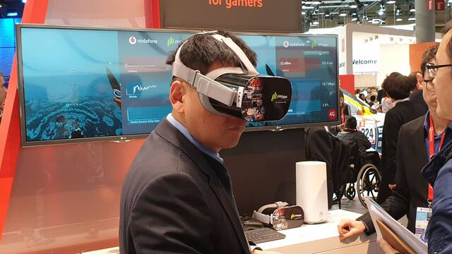 PlayGiga realiza una demostración de sus juegos VR vía streaming con una red 5G