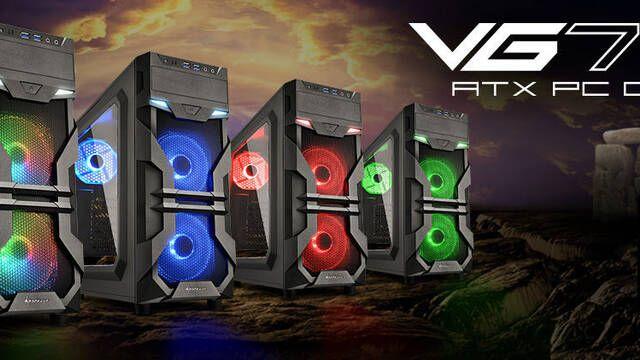 Sharkoon presenta su semitorre para jugar VG7-W