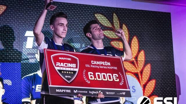 EDGE eSports se alza con la primera temporada de ESL Racing Series MAPFRE