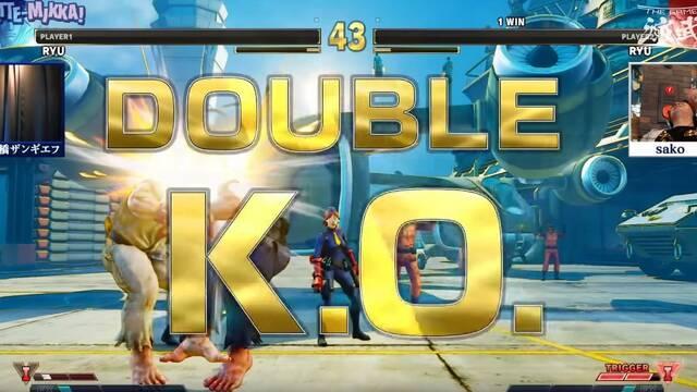 El combate de Street Fighter V más espectacular: un doble KO pactado