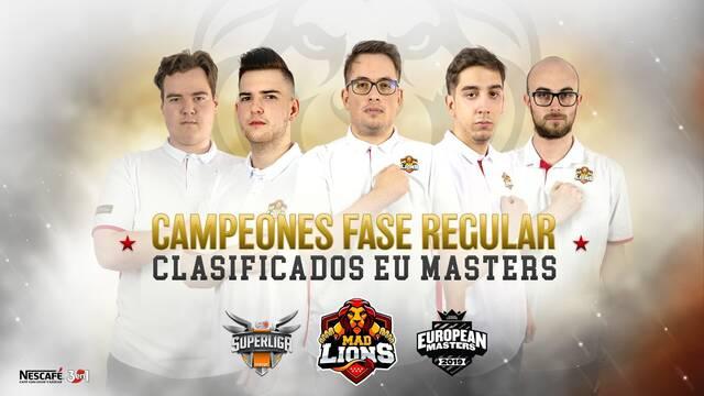 MAD Lions, campeón de la temporada regular de la Superliga Orange