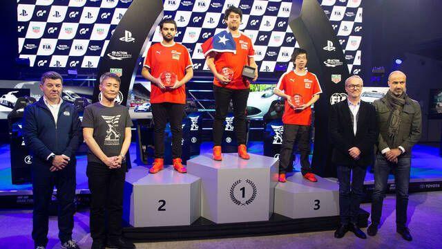 Nico Rubilar, campeón del FIA Certified Gran Turismo Championship Paris