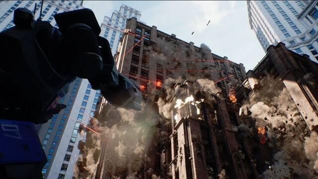 La poderosa demo técnica de físicas y destrucción en Unreal Engine 4.23