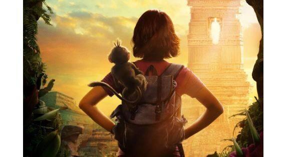 Así es el póster de la película de 'Dora la Exploradora'
