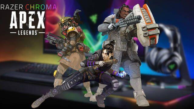 Razer Chroma tendrá efectos de iluminación en Apex Legends