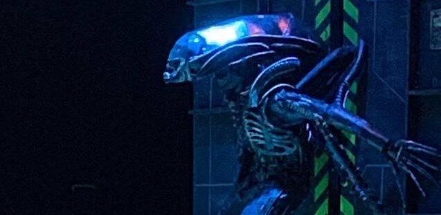 'Alien' hace temblar el escenario con una representación teatral amateur