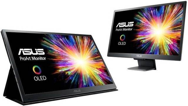 "ASUS lanza un monitor OLED 4K de 21,6"" por 5494 euros"