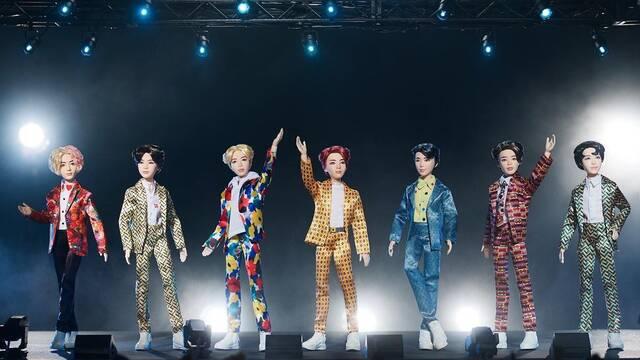 Mattel presenta los muñecos de la exitosa banda surcoreana BTS
