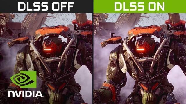 El DLSS aumenta el rendimiento de Anthem hasta en un 40%