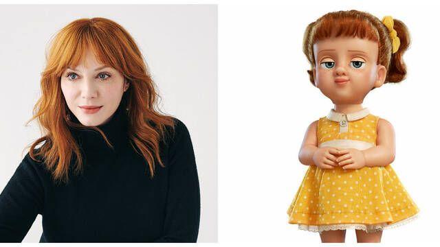 Christina Hendrick será la maquiavélica villana de 'Toy Story 4'