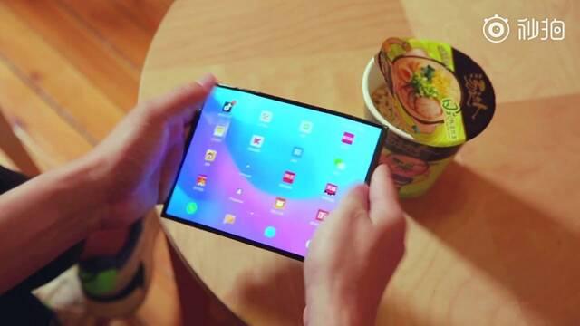 Nuevo vídeo del Mi Fold, el teléfono plegable de Xiaomi
