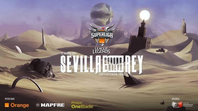 Sigue en directo la gran final de la Superliga Orange de LOL en Sevilla
