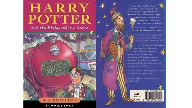 Venden un libro de la primera edición de Harry Potter por 90.000 dólares