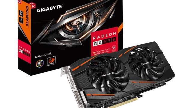 Gigabyte presenta su nueva gráfica AMD Radeon RX 590