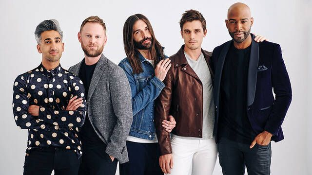 'Queer Eye' presenta el tráiler de su tercera temporada