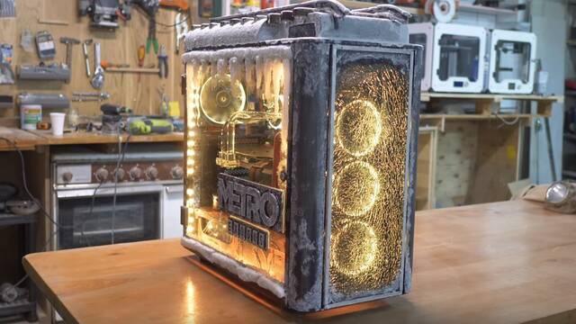 Llega un PC de Metro Exodus… ¡refrigerado con vodka!