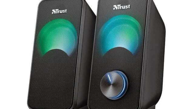 Trust presenta Arys Compact, altavoces RGB 2.0