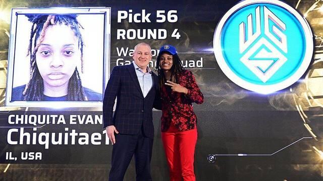 Chiquita Evans se convierte en la primera mujer de la NBA 2K League
