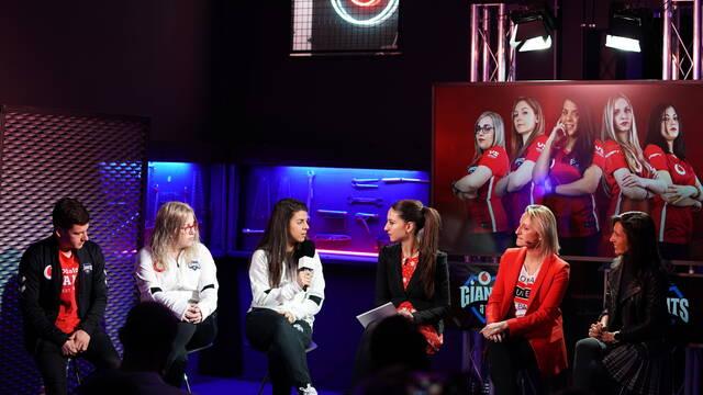 Vodafone Giants presenta su equipo femenino de CS:GO