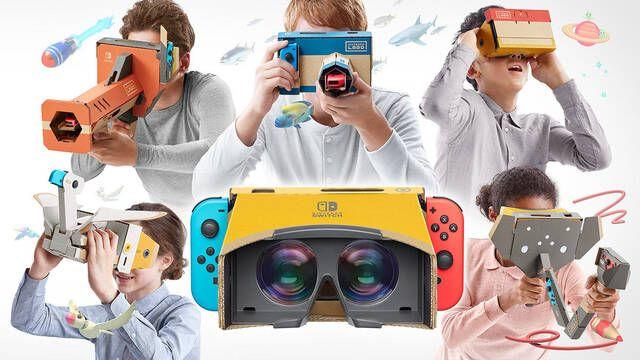 Nintendo presenta un kit de realidad virtual para Nintendo Labo