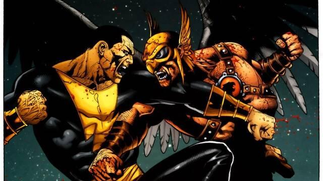 El guion de la película de Black Adam incluiría a Hawkman y Stargirl