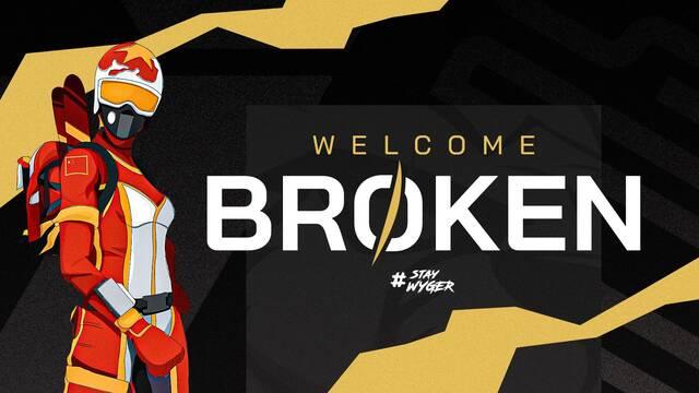 Broken es el primer fichaje de Wygers para Fortnite