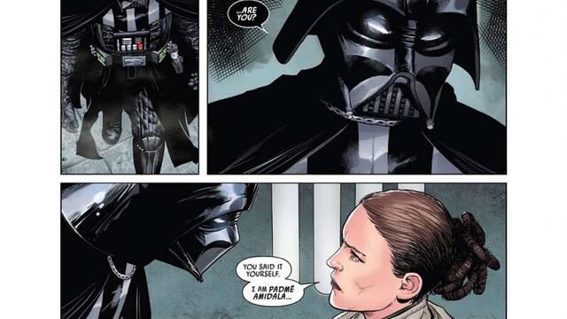 Star Wars revela el misterioso 'cliffhanger' de los cómics de Darth Vader