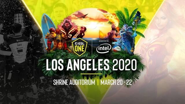 Valve y ESL posponen el ESL One Los Angeles Major de DOTA 2 por el coronavirus