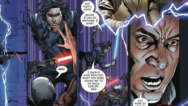 Star Wars: Un nuevo cómic revela cómo Palpatine llevó al Lado Oscuro a Kylo Ren