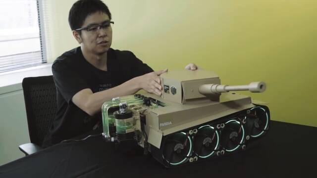 El PC Modding de los viernes: El poderoso tanque de Kensuke Morita