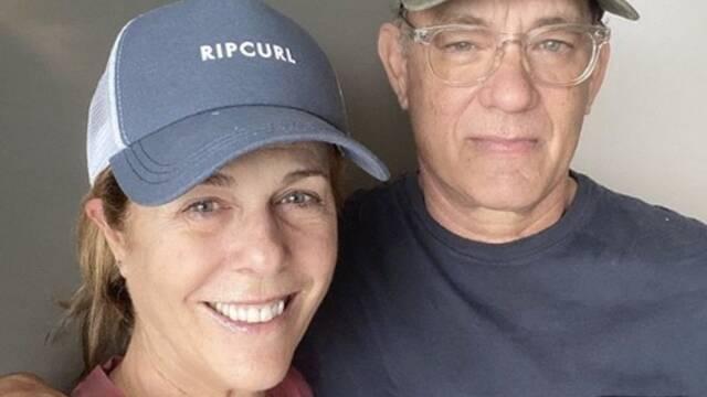 Tom Hanks y Rita Wilson tranquilizan a sus fans con un nuevo mensaje