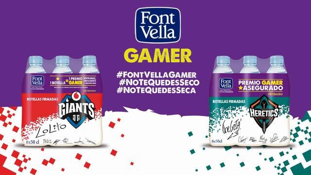 Font Vella patrocinará a Team Heretics y renueva su acuerdo con Vodafone Giants