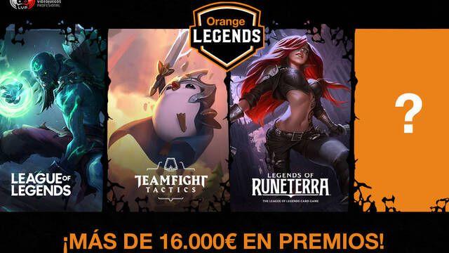 Orange Legends, los nuevos circuitos de LVP y Orange con más de 16.000 € en premios