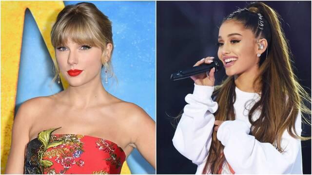 Taylor Swift y Ariana Grande animan al distanciamiento social por el coronavirus