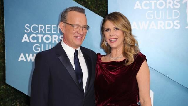 Tom Hanks y Rita Wilson habrían salido del hospital y están en su casa