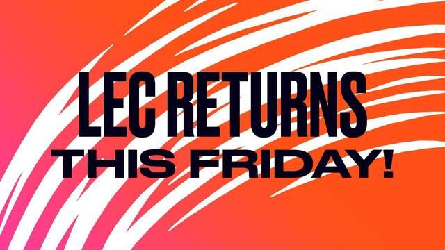 La LEC regresará este viernes en formato online tras el parón por el coronavirus