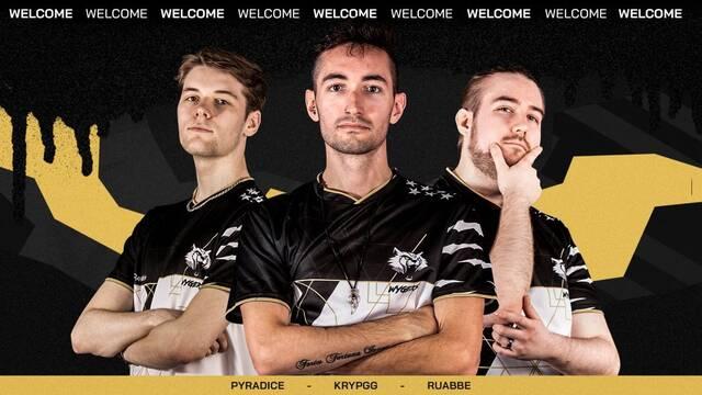 Wygers presenta a su equipo de Apex Legends