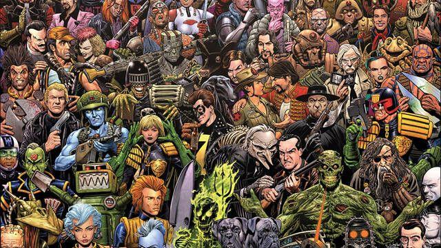 Los cómics de 2000 AD se harán audiolibros en un acuerdo sin precedentes