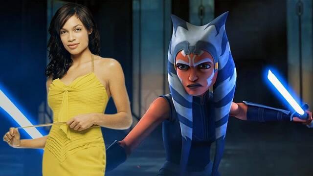 The Mandalorian: Rosario Dawson podría ser Ahsoka Tano en la segunda temporada
