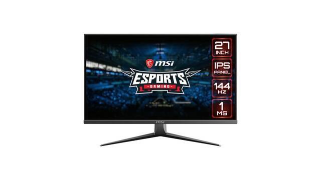 MSI lanza sus nuevos monitores de esports Optix MAG273 y MAG 273R